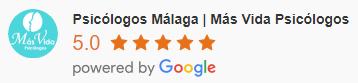 5 estrellas en valoraciones de nuestros pacientes en Google